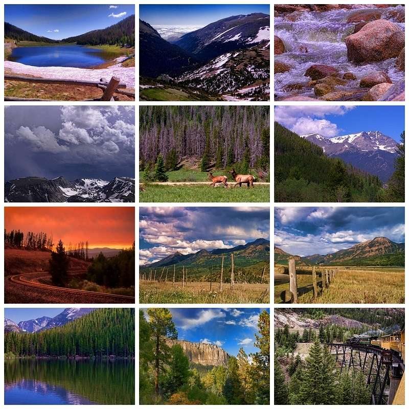 Colorful Colorado 2020 Photo Calendar