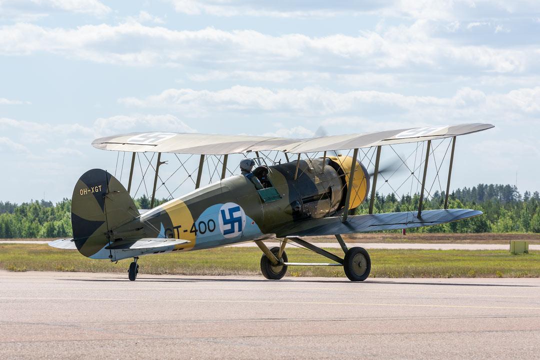 Gloster Gauntlet / Ilmavoimat 100