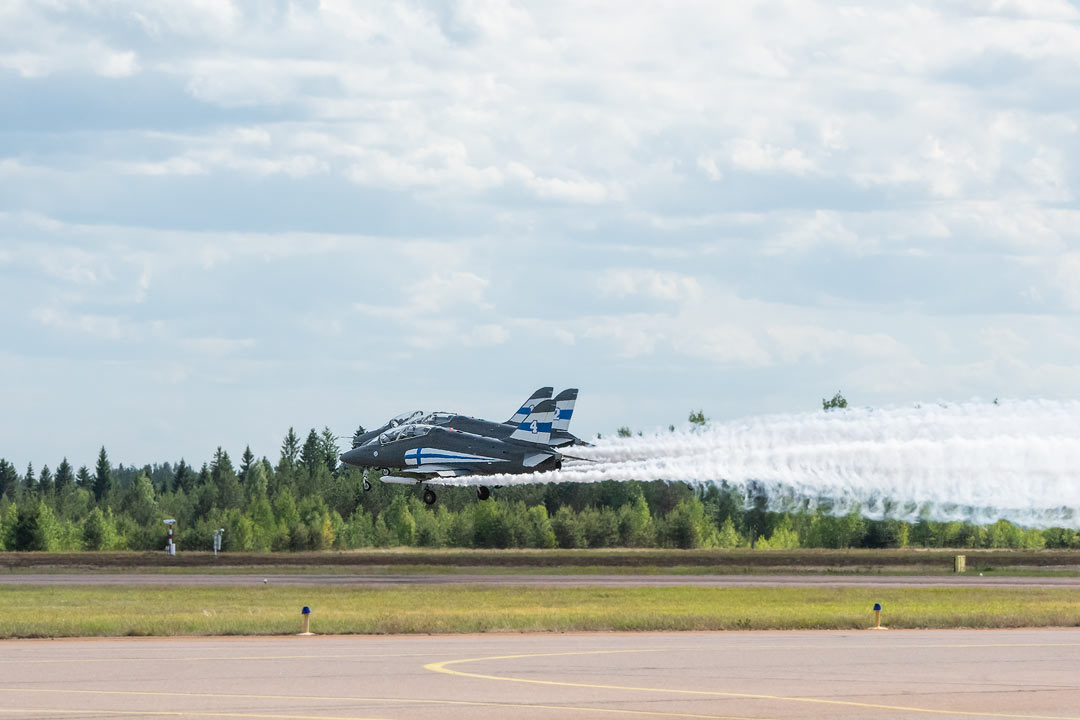 Midnight Hawks / BAE Systems Hawk / Ilmavoimat 100