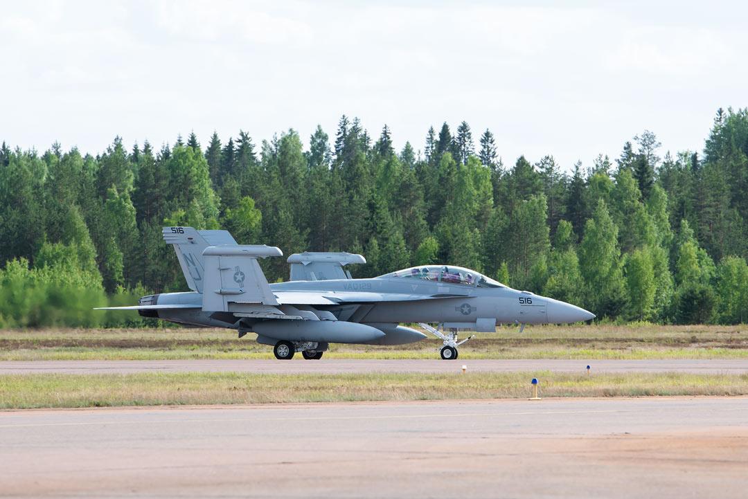 Boeing EA-18G Growler / Ilmavoimat 100