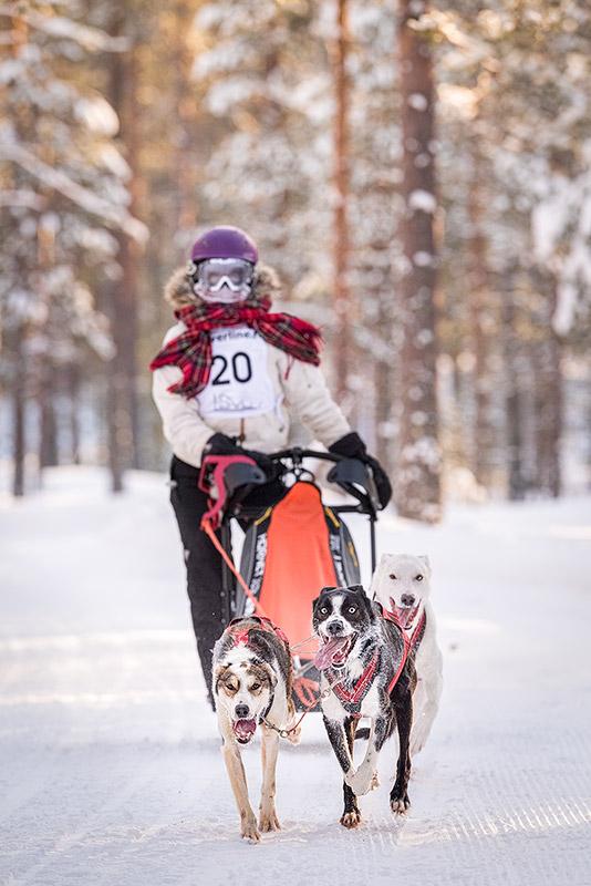 Valjakkourheilu: Jämin talvikisa 2018