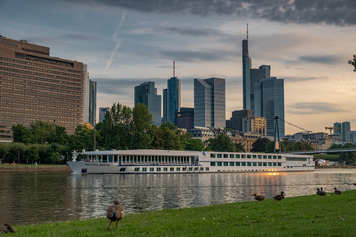 Golden Hour in Frankfurt