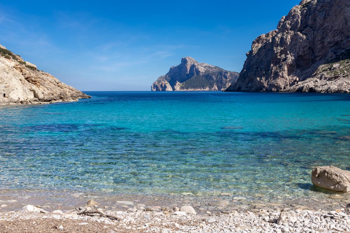 Cala Boquer. Pollensa. Mallorca. Balearic Islands