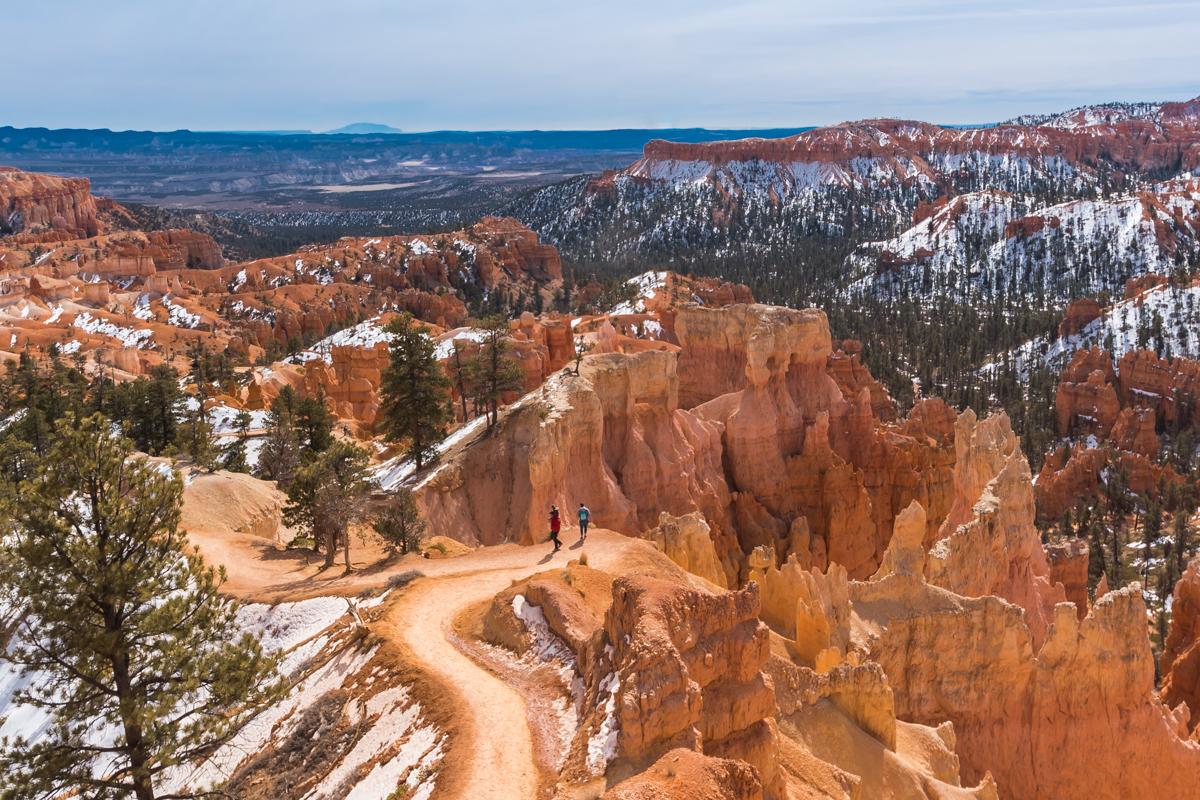 Bryce Canyon National Park. Utah. United States of America