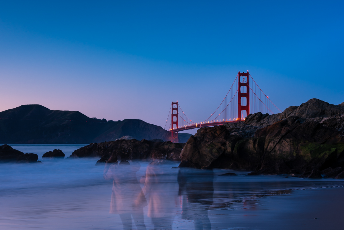 Golden Gate Ghosts. San Francisco. California. United States of America