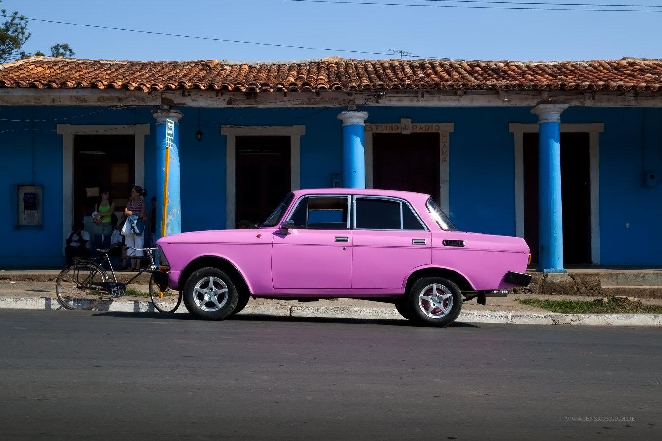 Pink Oldtimer