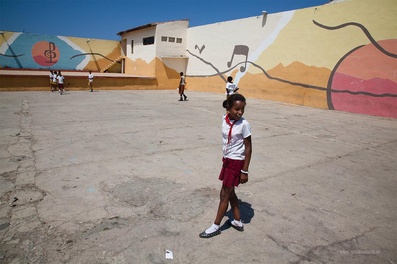 Cuban Schoolyard