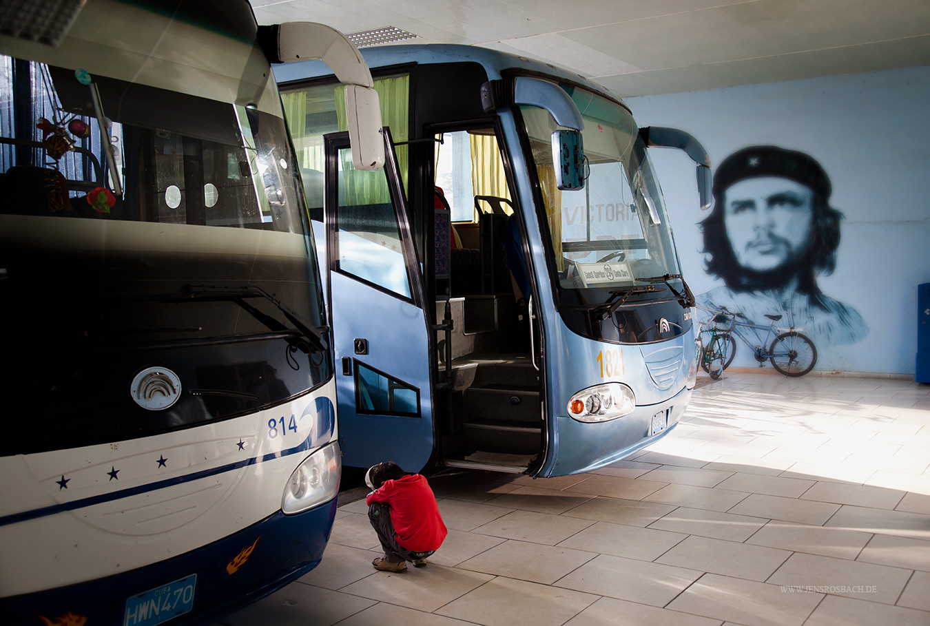 Cuban Bus Station