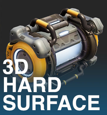 3D Hard Surface