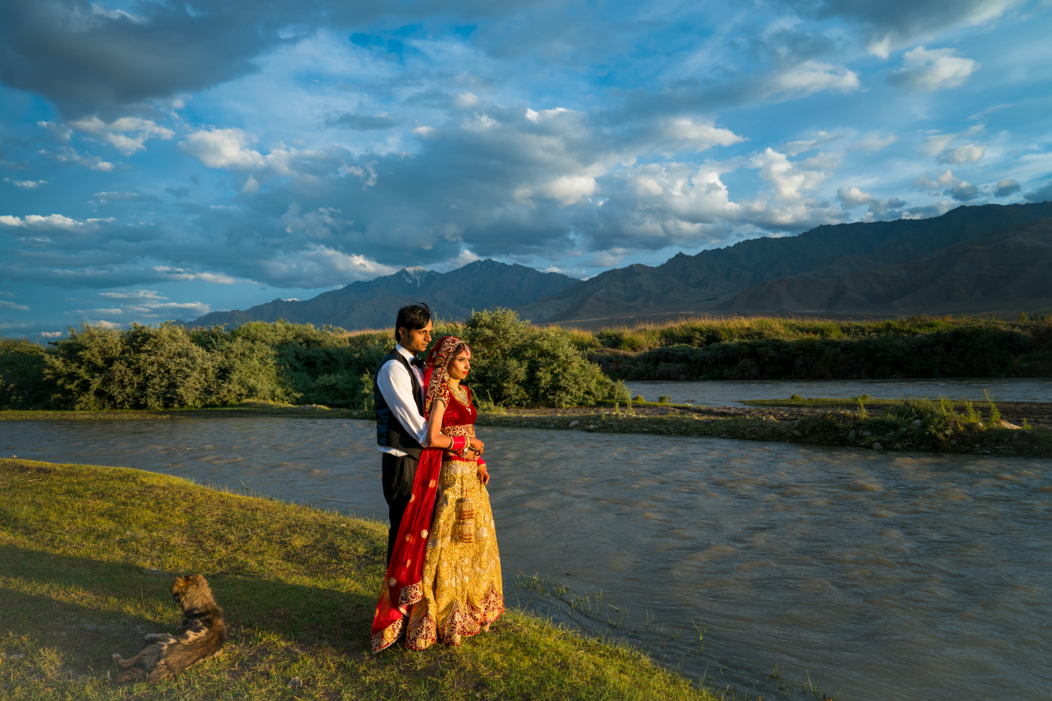 A destination wedding in Leh.