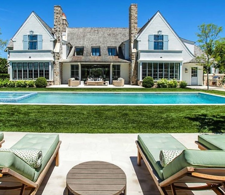 Project with McAlpine (formerly McAlpine Tankersley Architects) and James Michael Howard Interiors in Bridgehampton, NY