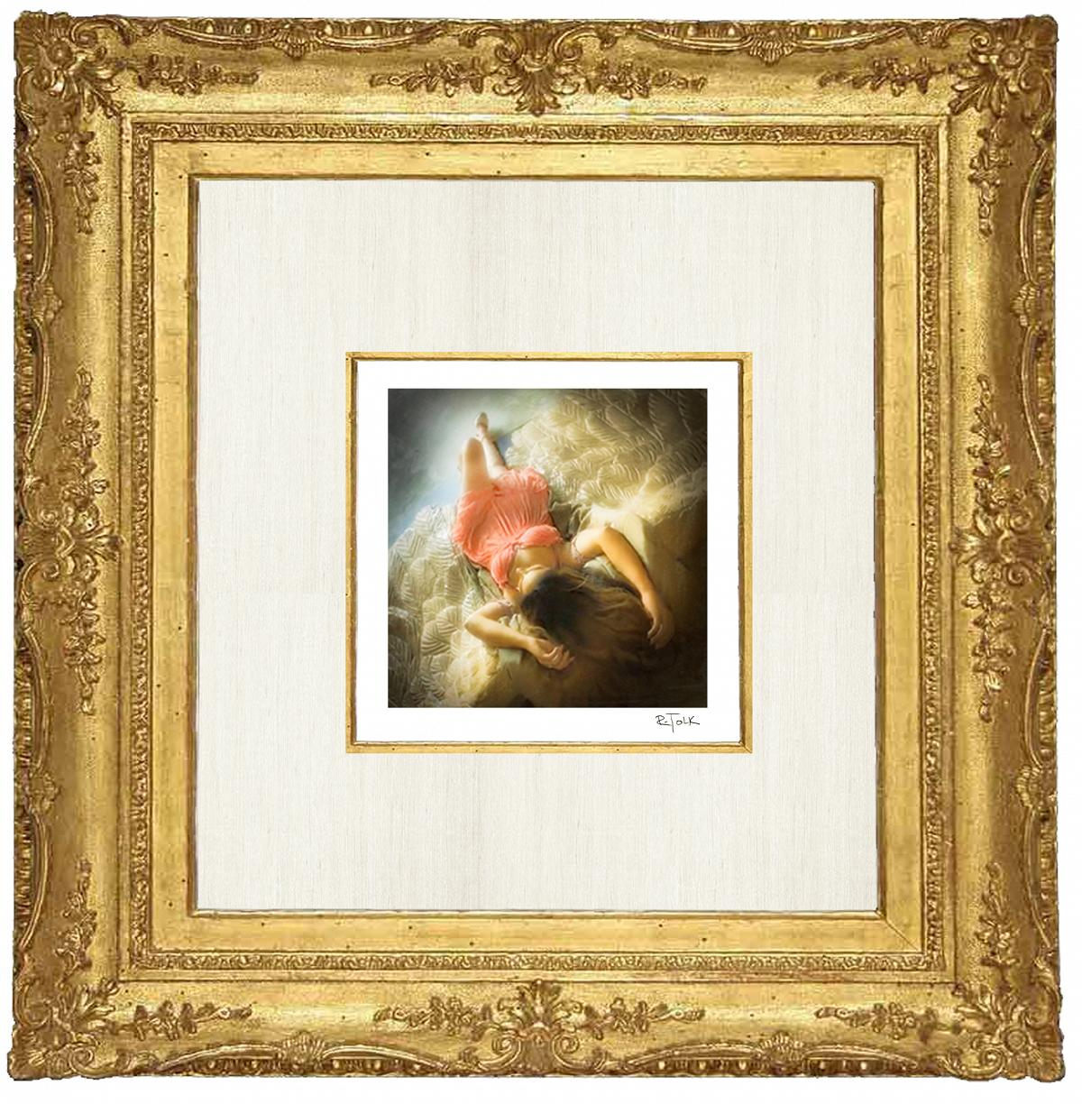 Rebecca Tolk Photography Rococo Picture Frame with Wings