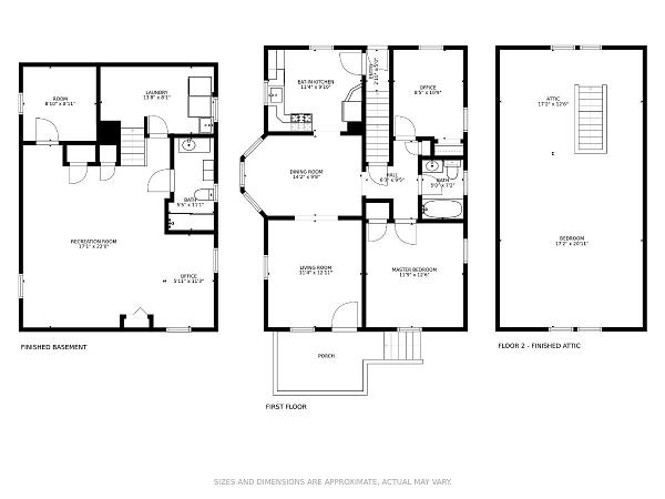 Floor Plan for Edison Real Estate Agents