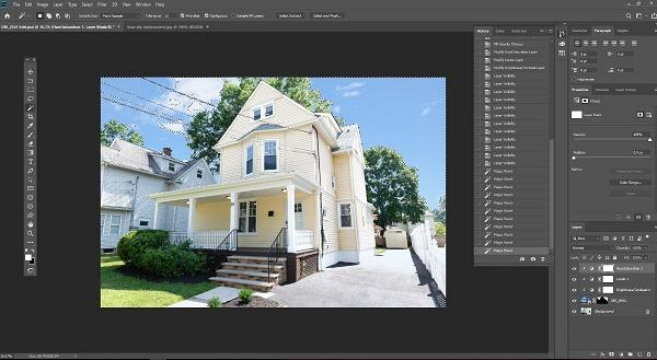 Photoshop work for Real Estate Agents