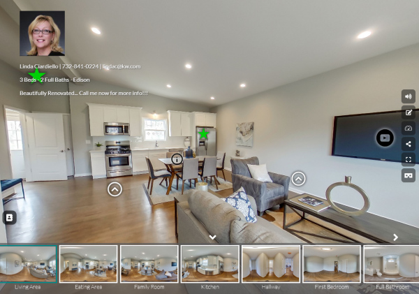 3D or 360 Tours for Middlesex County NJ real estate agents