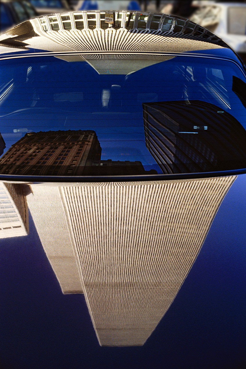 WTC Twin Tower Reflection