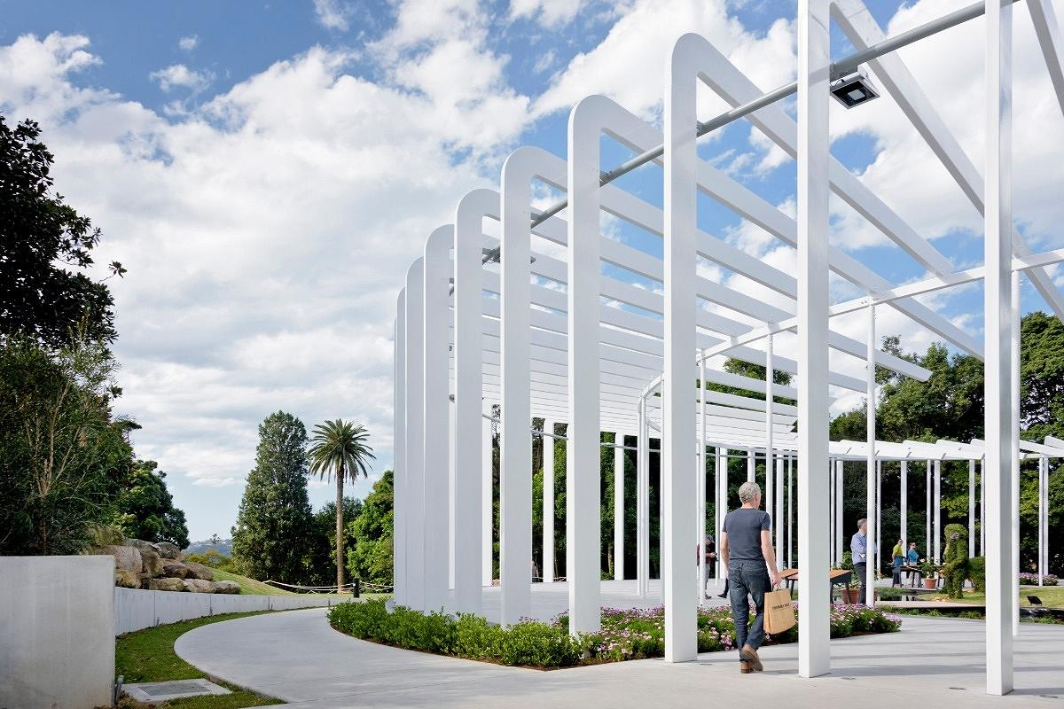 The Calyx, Royal Botanic Gardens Sydney, by PTW Architects