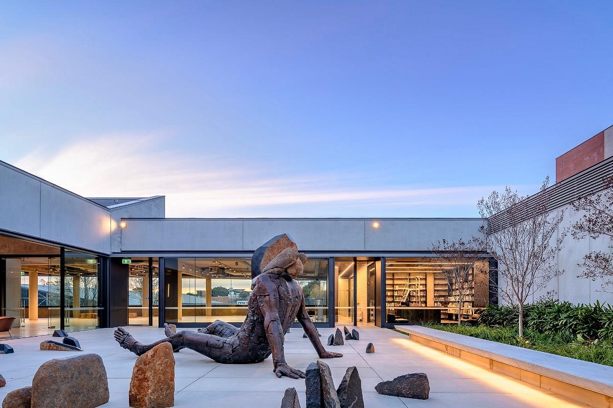 Dangrove Art Storage Facility, by Tzannes Architects