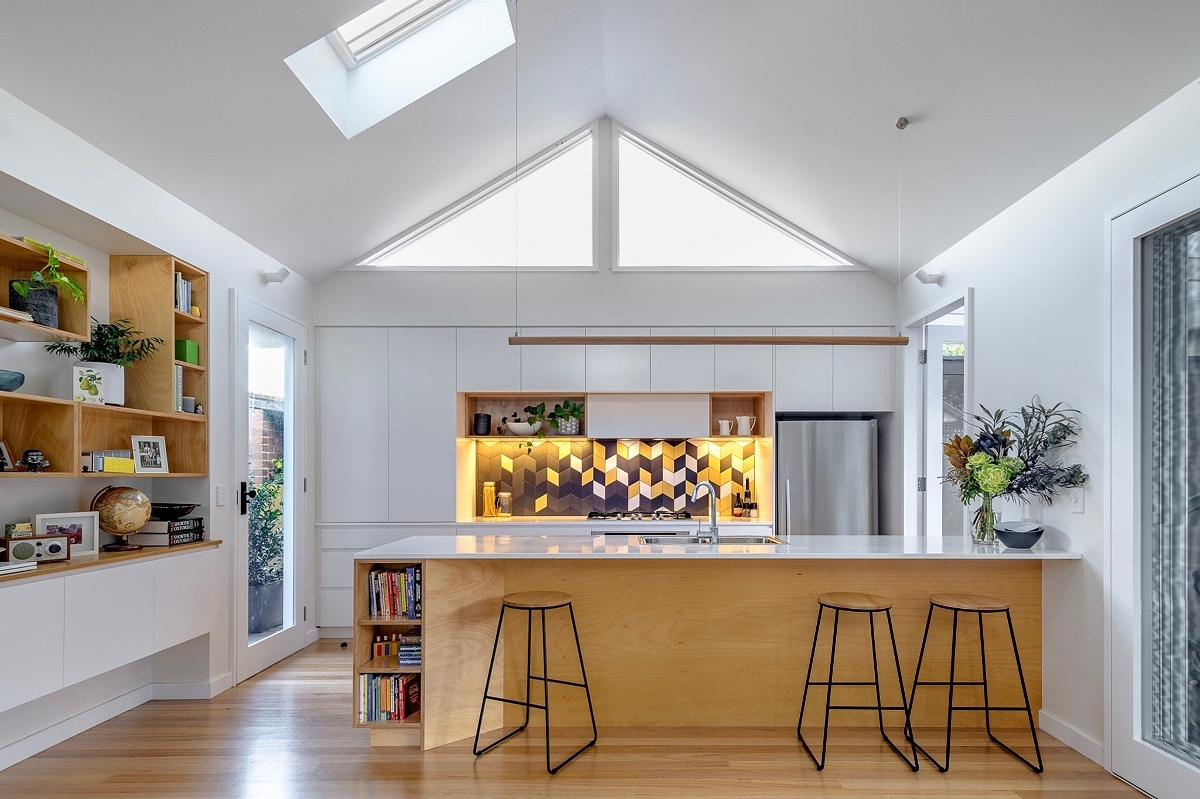 Armstrong Street House, Ashfield, by Emily Knight Design and Build By Design