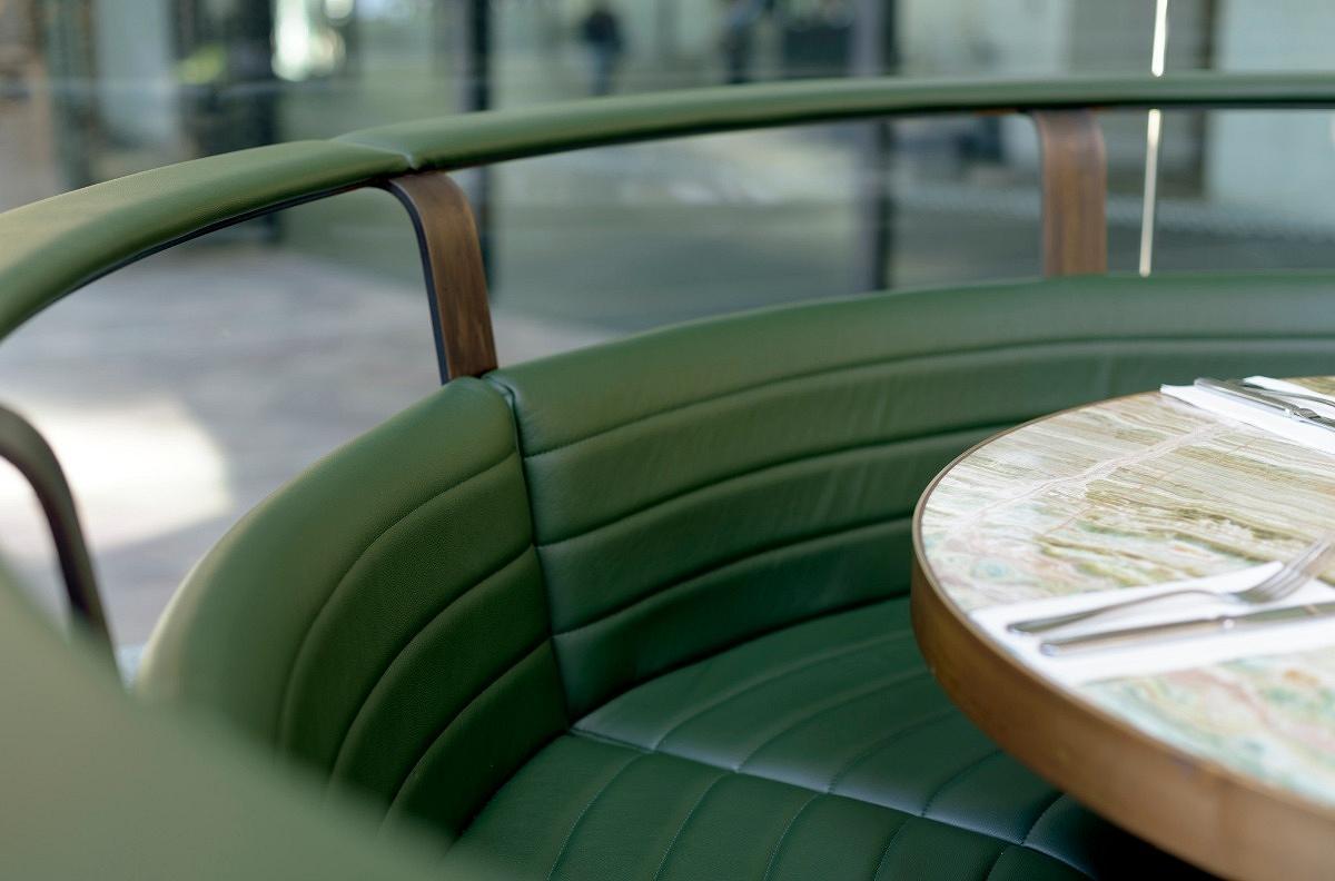 Grand Duk Café Fitout, Grosvenor Place Sydney, by Humphrey and Edwards, H&E Architects
