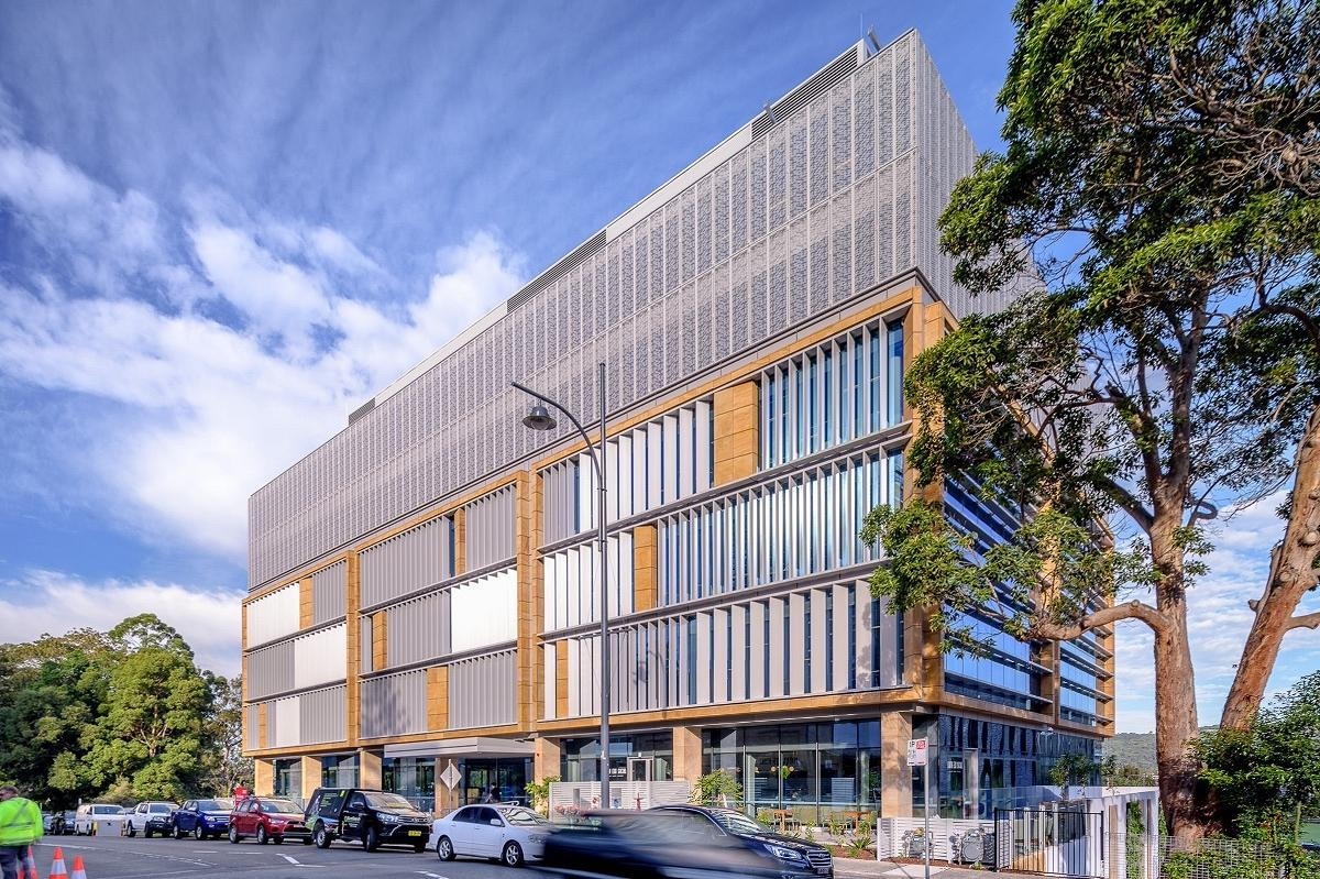Mann Street Commercial Building, Gosford, by Group GSA