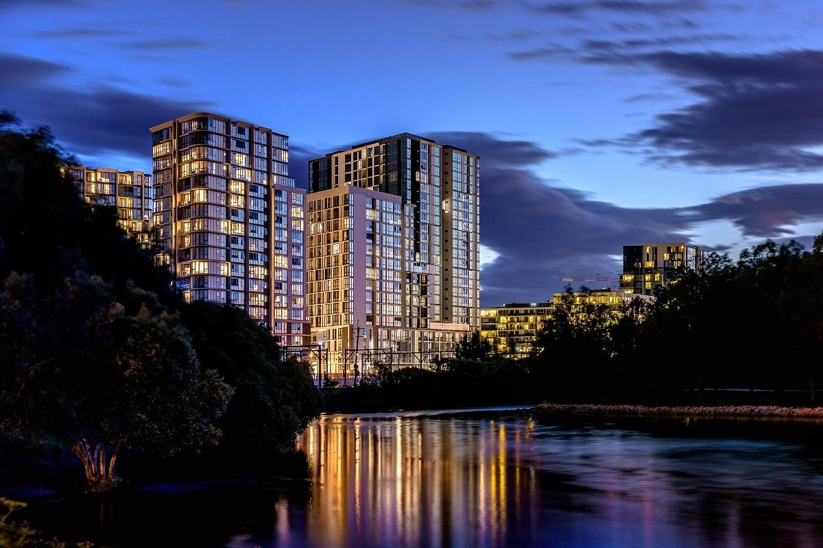 Icon and Marque Apartments, Wolli Creek, by Group GSA