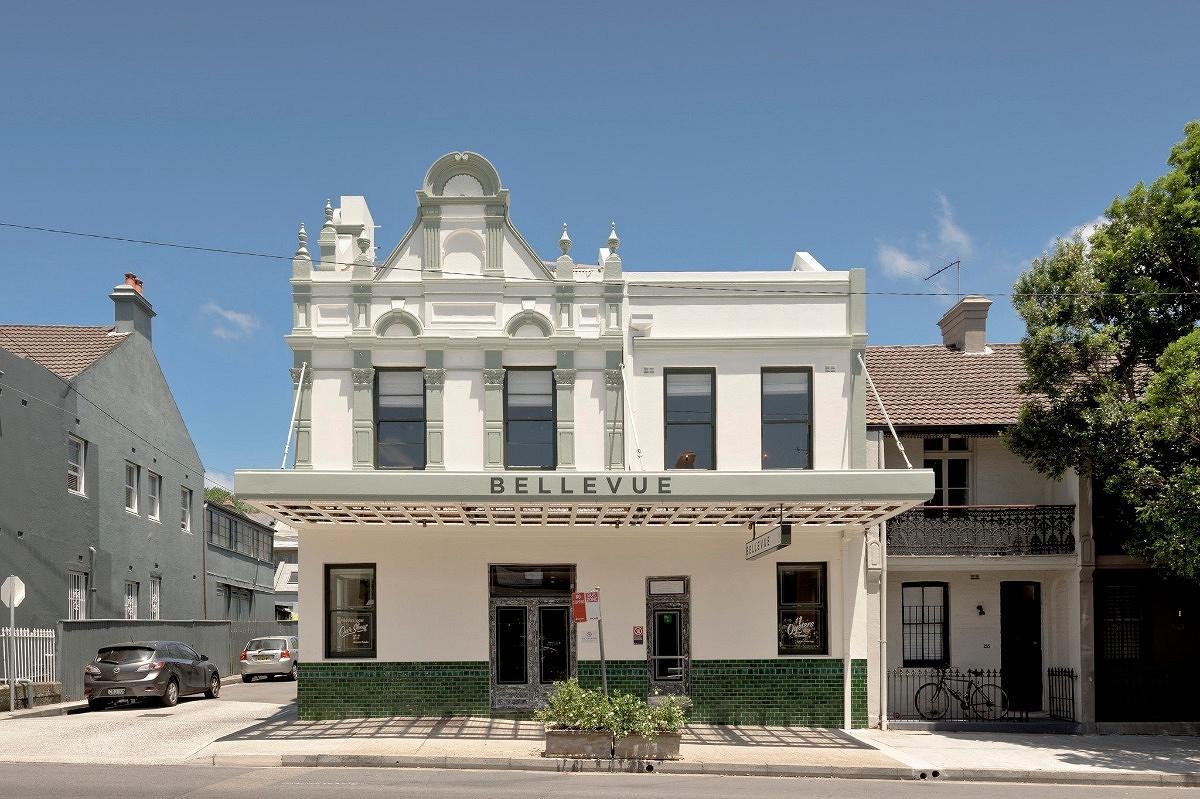 Bellevue Hotel, Paddington, by Humphrey and Edwards, H&E Architects