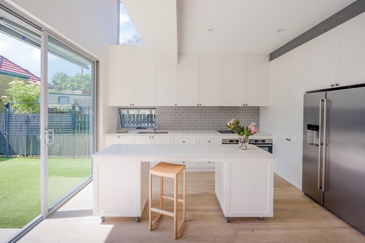 John St Terrace House, Petersham, by Leenders Cottier Architects
