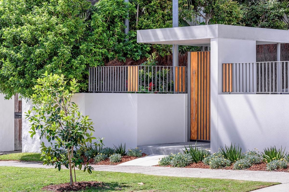 Dover Heights Entry & Landscape, by MaSQ Architecture