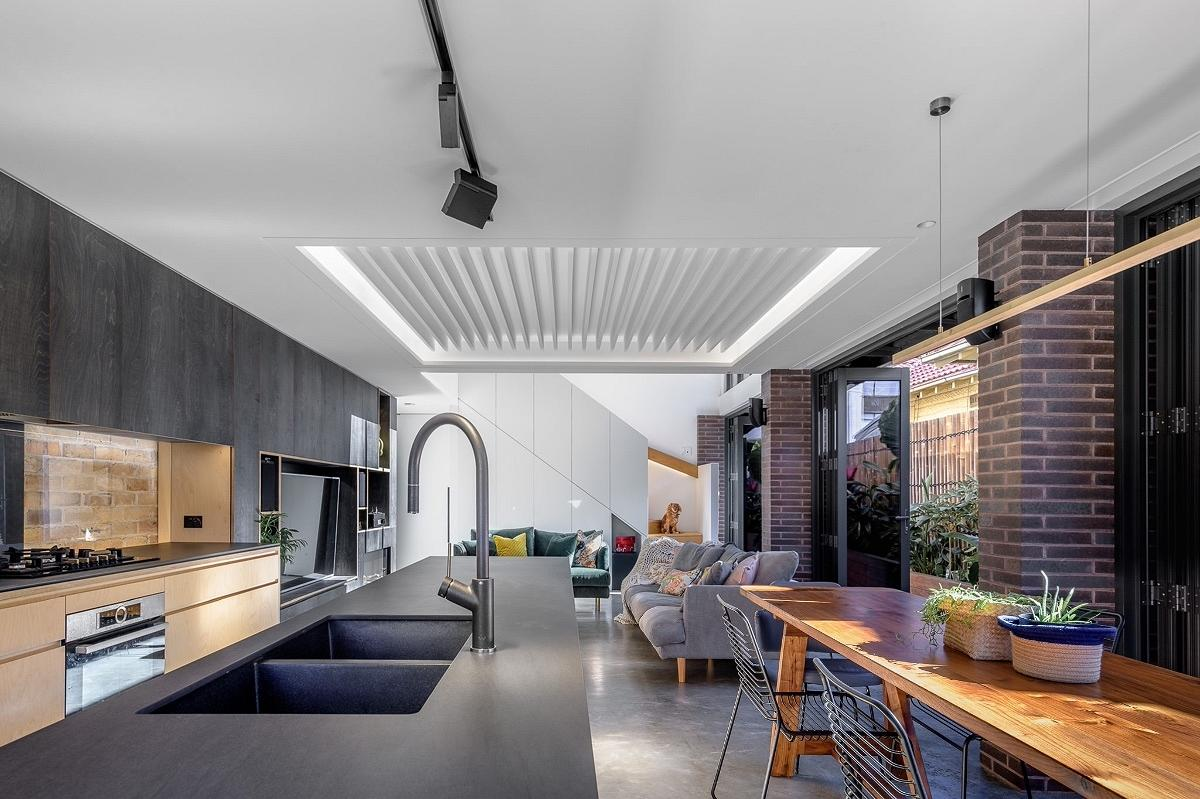 Pittwater Semi, by Noho Architects and EzyReno
