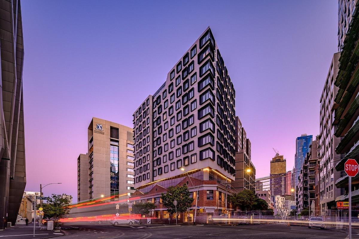 University Square Student Housing, Pelham Street Carlton, Melbourne, by DKO Architecture