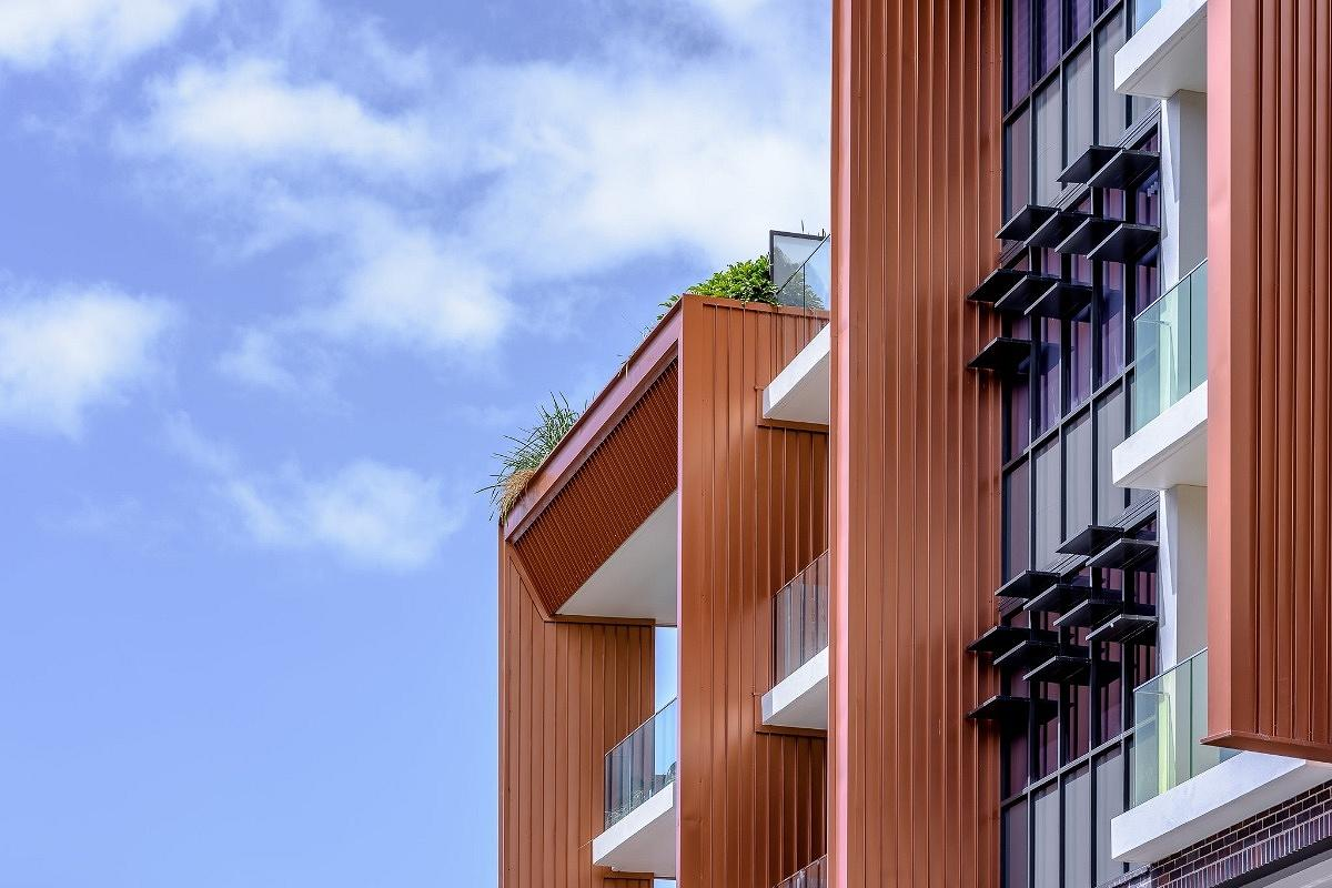 Luxe On Eve Apartments, Erskineville, by Smith Tzannes Architects