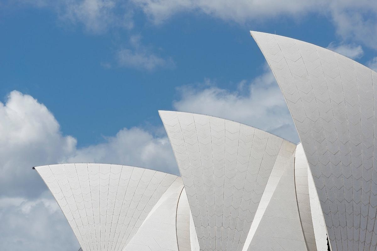 The Sydney Opera House, by Jorn Utzon & Peter Hall Architects