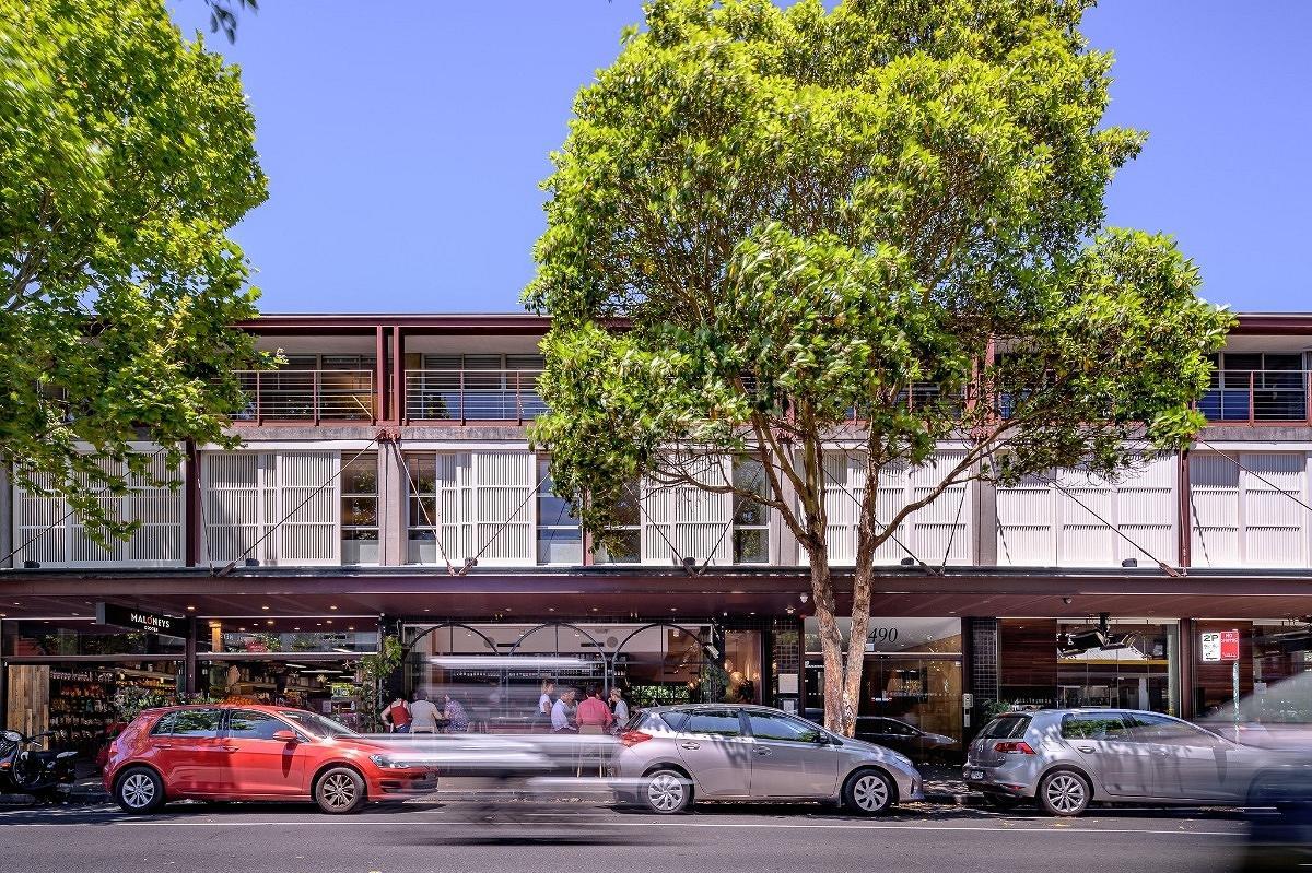 490 Crown St Commercial Building, Surry Hills, by Alexander Tzannes Associates