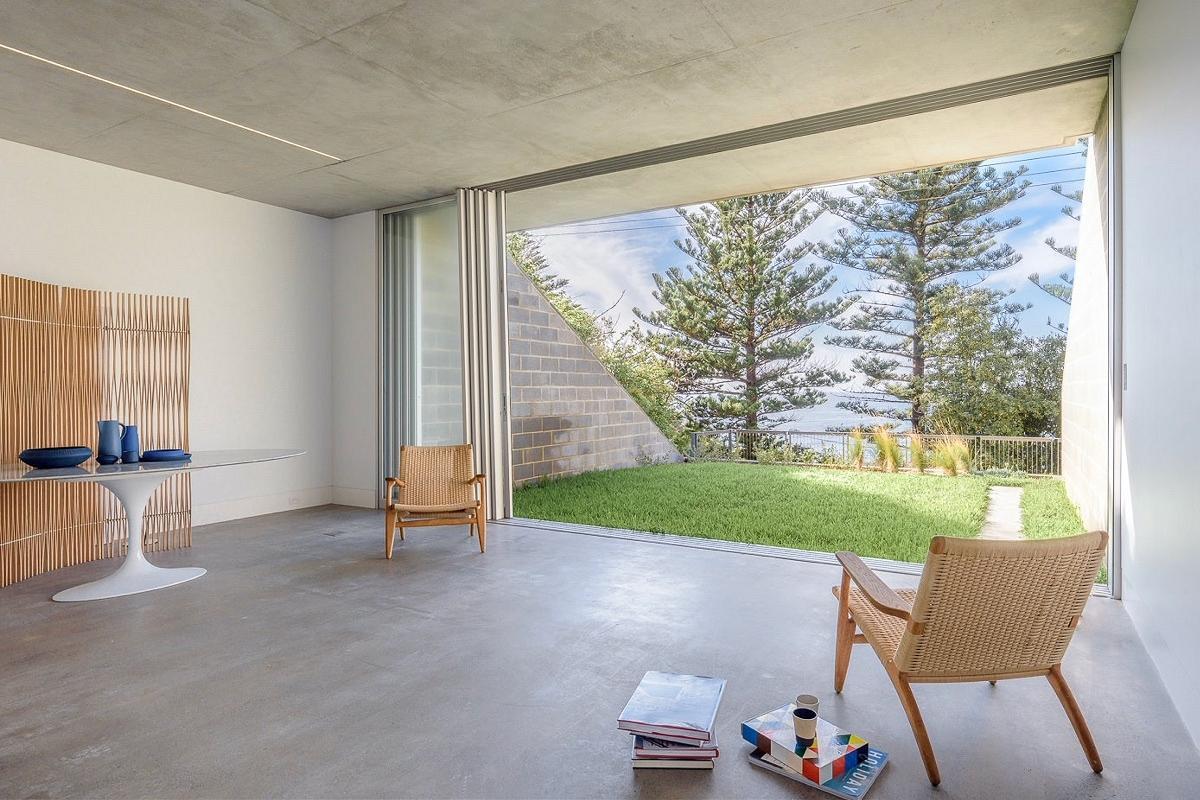 Bilgola Studio, by Tzannes Architects