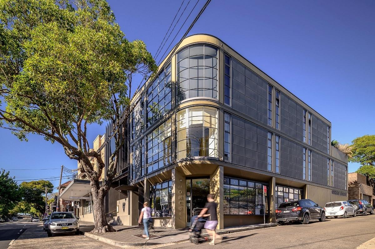 Moncur Street Commercial Buildings, Woollahra, by Tzannes Architects