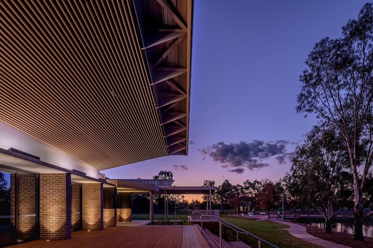 Woodcroft Community Centre, by Carter Williamson Architects