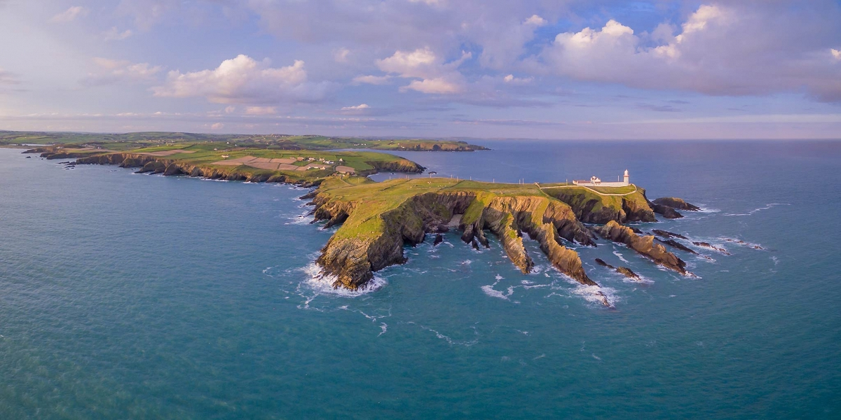 Galley Head Lighthouse, West Cork, Ireland  Panoramic image