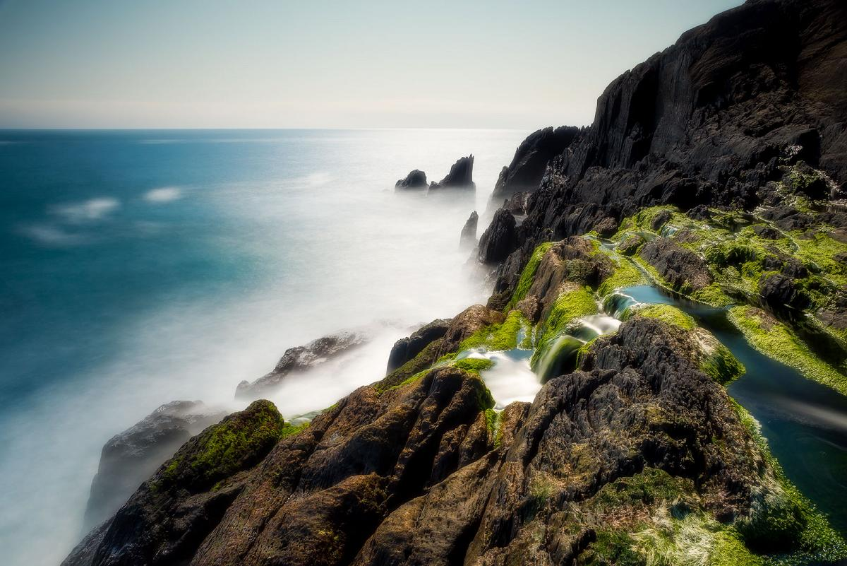 Long exposure Photograph with a 10 stop ND filter