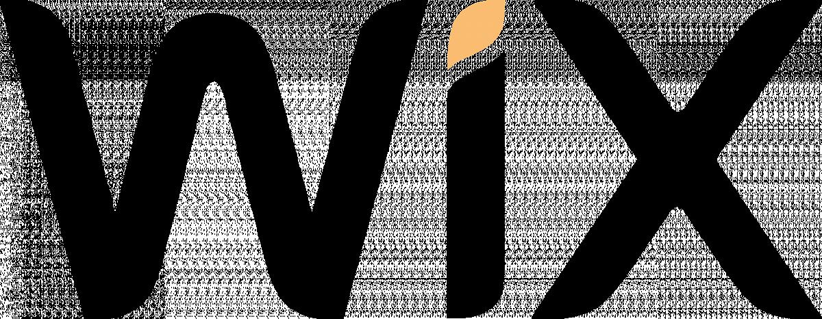 Wix logo for the review of Squarespace vs wix vs wordpress vs zenfolio vs webflow vs pixpa image