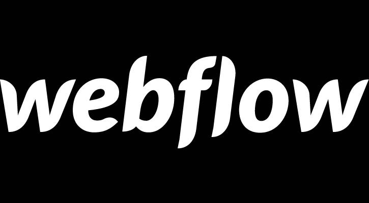 Webflow logo for the review of Squarespace vs wix vs wordpress vs zenfolio vs webflow vs pixpa image
