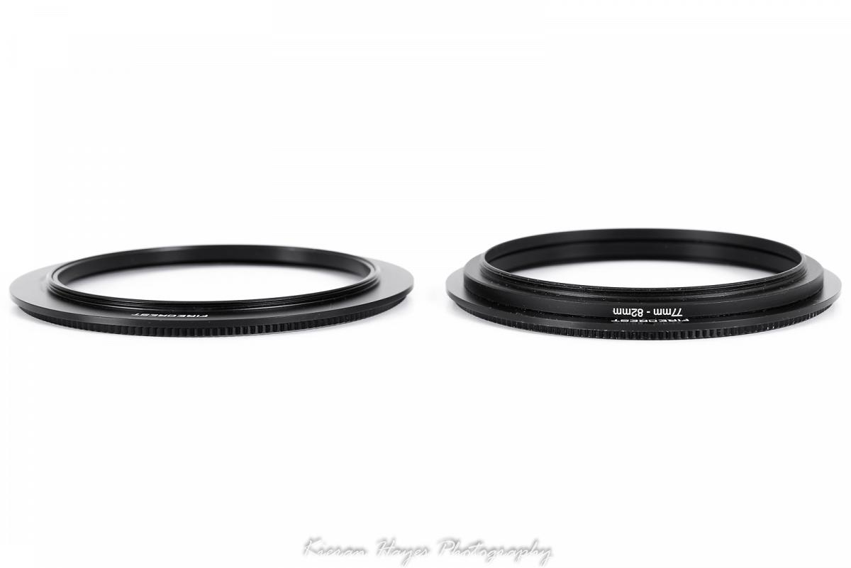 Formatt Hitech Firecrest 100mm filter holder rotating ring adaptors