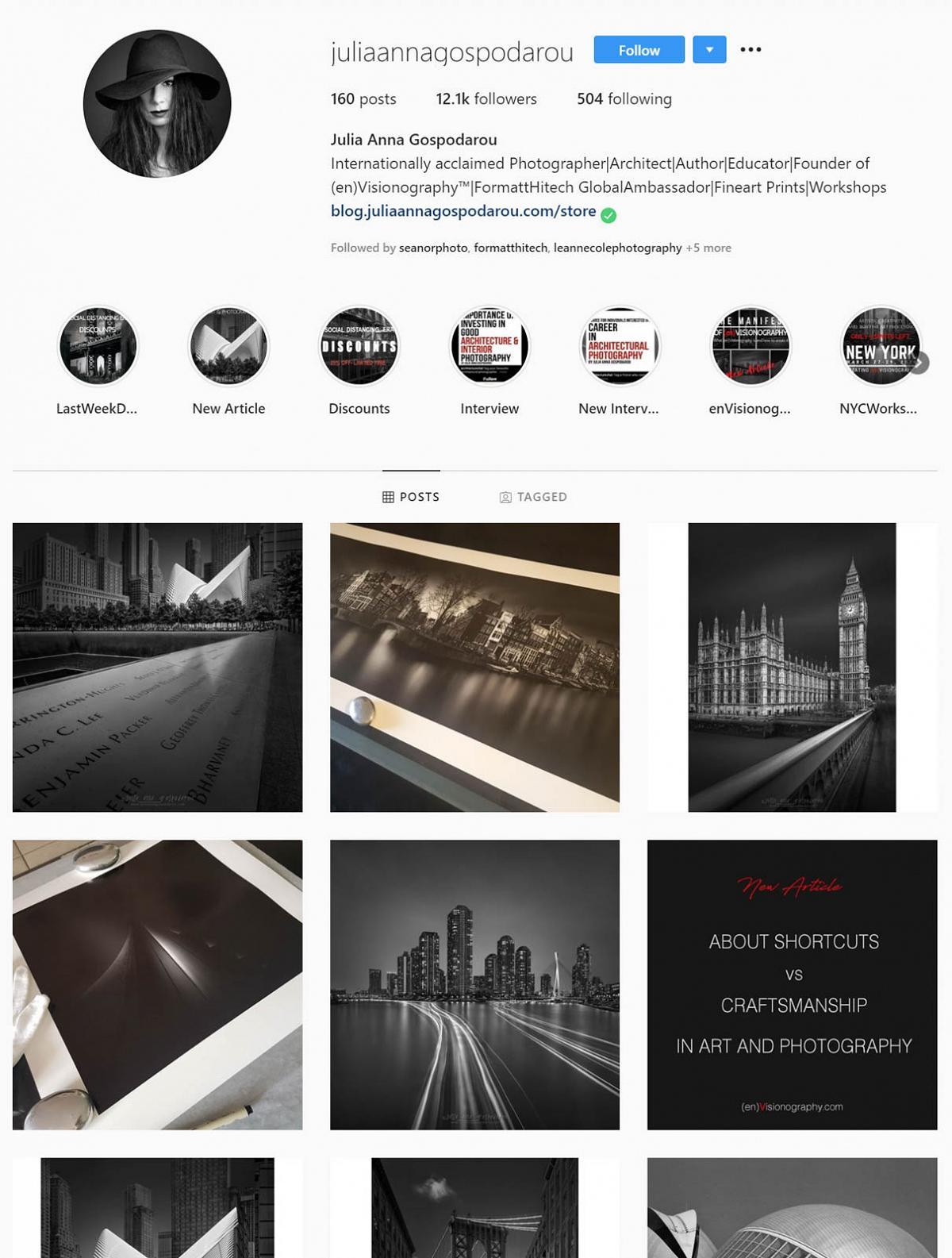 Julia Anna Gospodarou instagram gallery 1