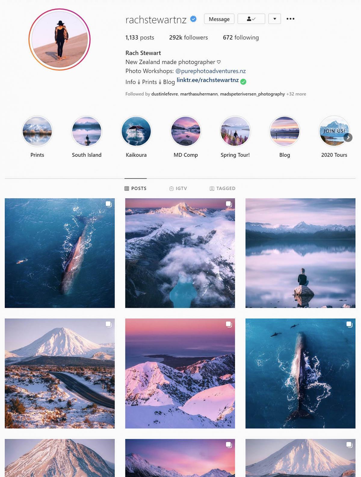 Rachel Stewart instagram gallery 1