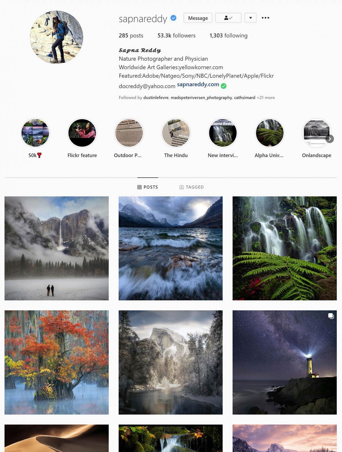 Sapna Reddy instagram gallery 1