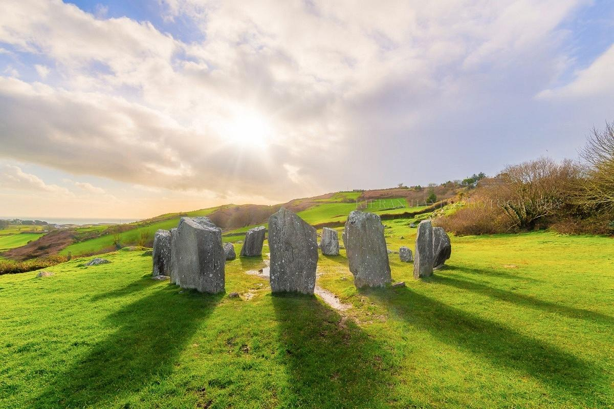 Landscape photography Ireland, Drombeg Stone Circle, West Cork photography