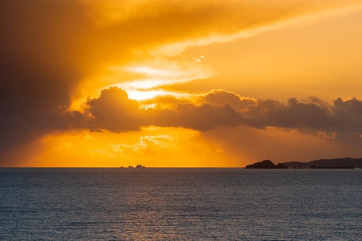Sunset in West Cork, Landscape photography Ireland