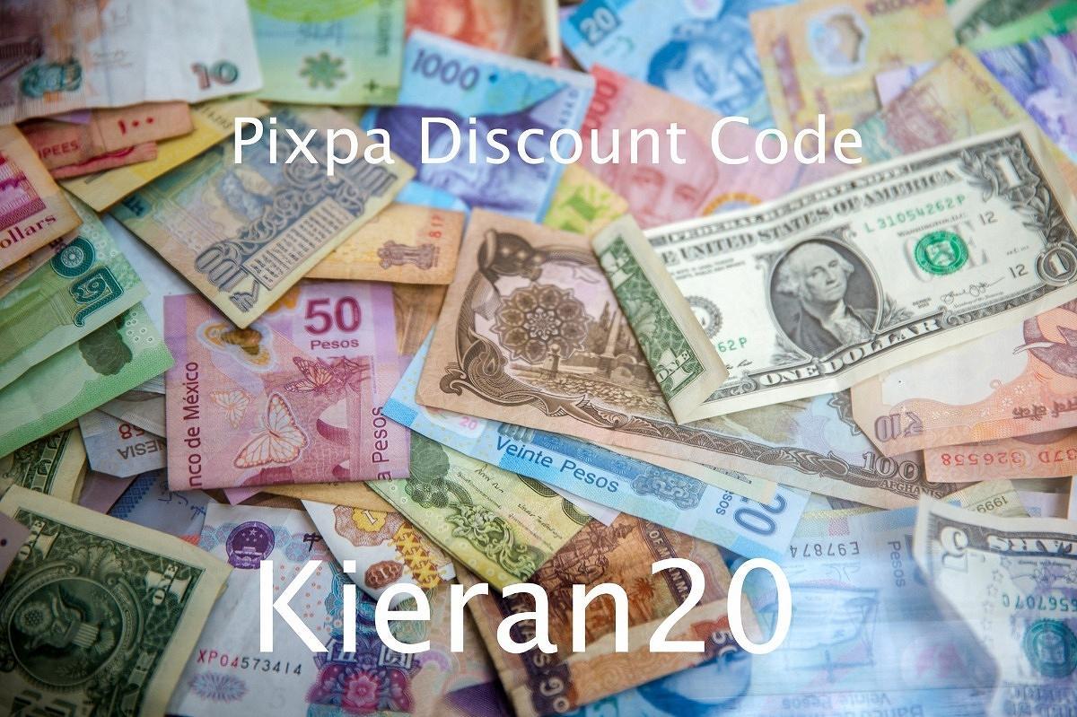 Pixpa discount code