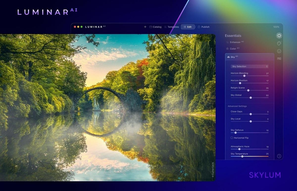 Luminar AI system requirements.
