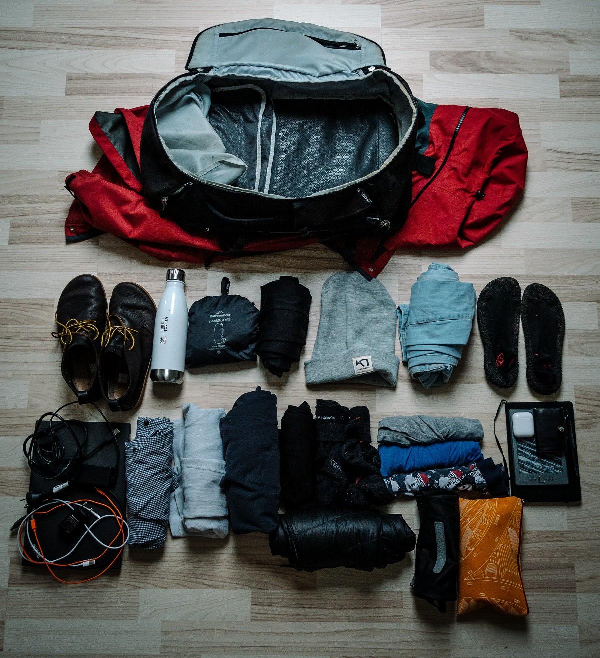 Backpack living gearlist